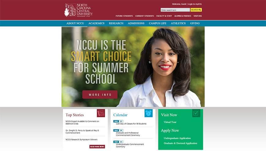 Colleges Universities In Raleigh Web Design Gallery