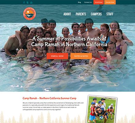 Summer Camps Wordpress Web Designer Raleighcom